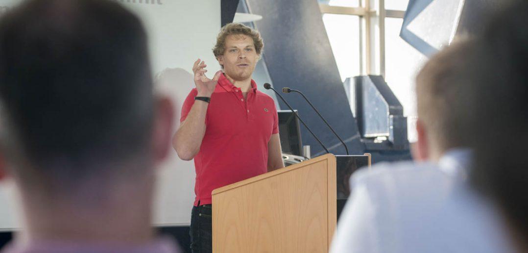 Goldgrube ICO: Julian Hosp von TenX erzählt, wie er in wenigen Minuten 80 Millionen US-Dollar eingenommen hat.