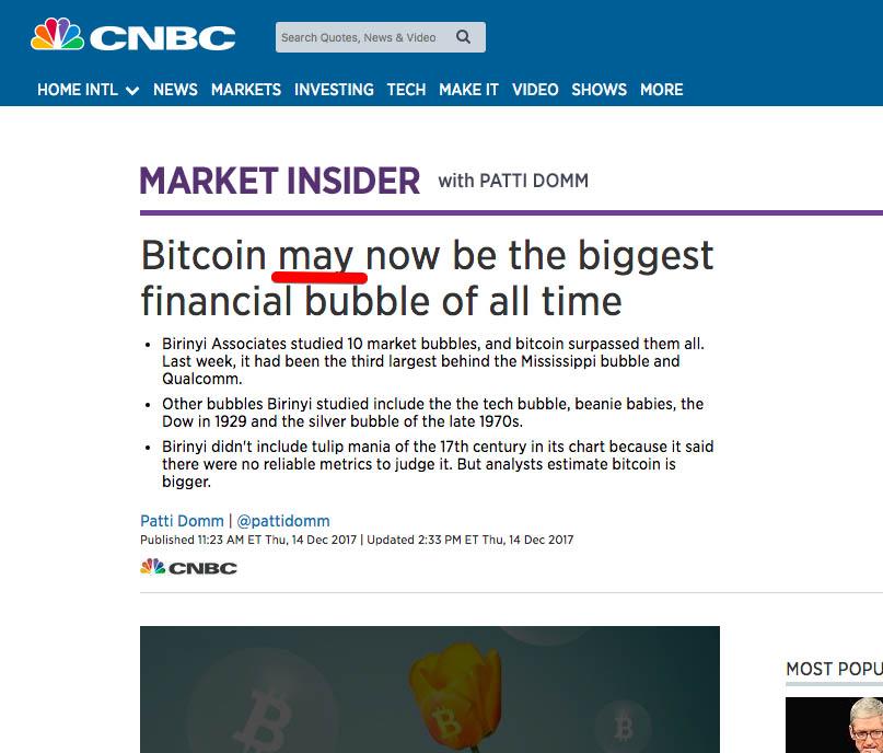 "Ouriel Ohayon: ""Lasst uns über diese Bitcoin-Bubble sprechen"""